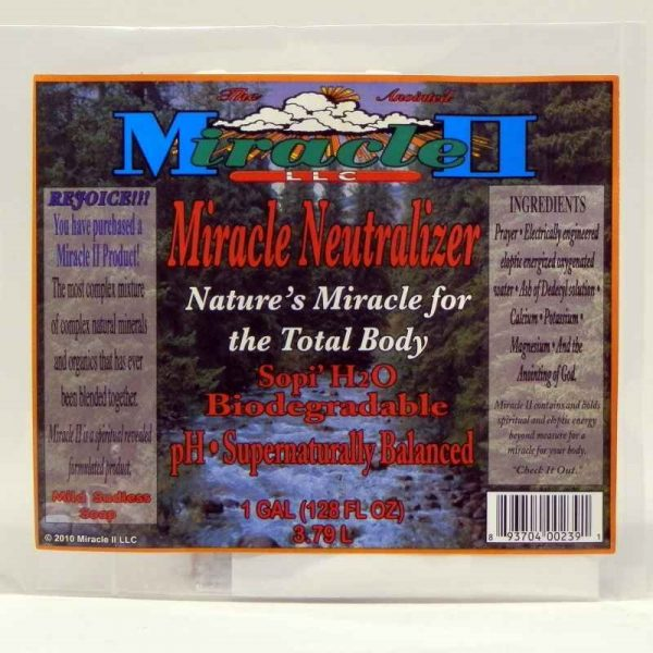 Make Your Own Miracle Neutralizer